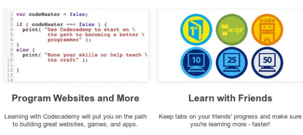 Vous aussez apprenez à programmer avec la CodeAcademy