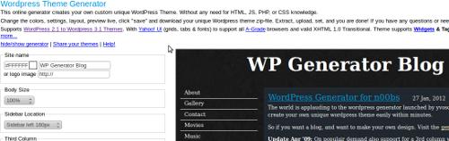 Créer son thème WordPress en quelques clics